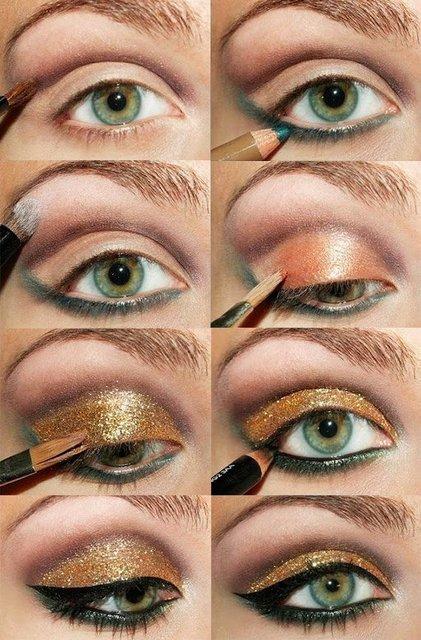 Макияж на Новый год: идеи новогоднего макияжа с фото и видео