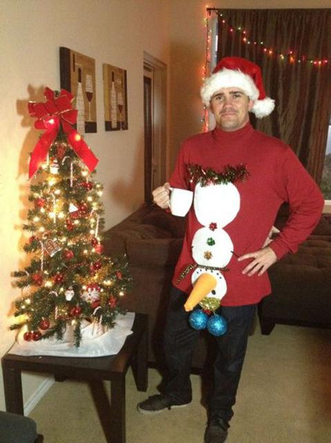 Топ 20 самых нелепых новогодних нарядов