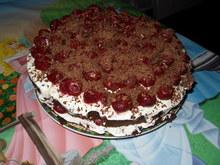 """Торт с вишней """"Мечта Штрауса"""""""