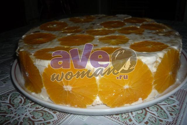 желейный торт фруктовый рецепт