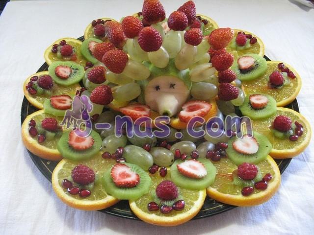 Фруктовая тарелка своими руками фото 514