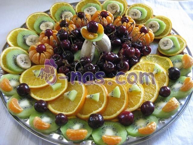 Украшение фруктами в домашних условиях с фото 401
