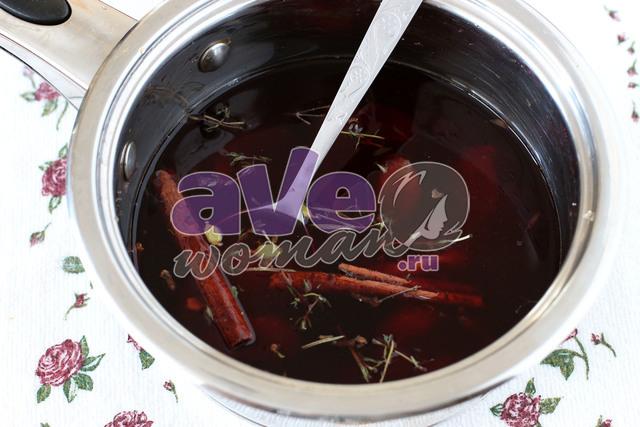 глинтвейн на красном вине
