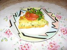 Кабачковая запеканка с сыром и зеленью