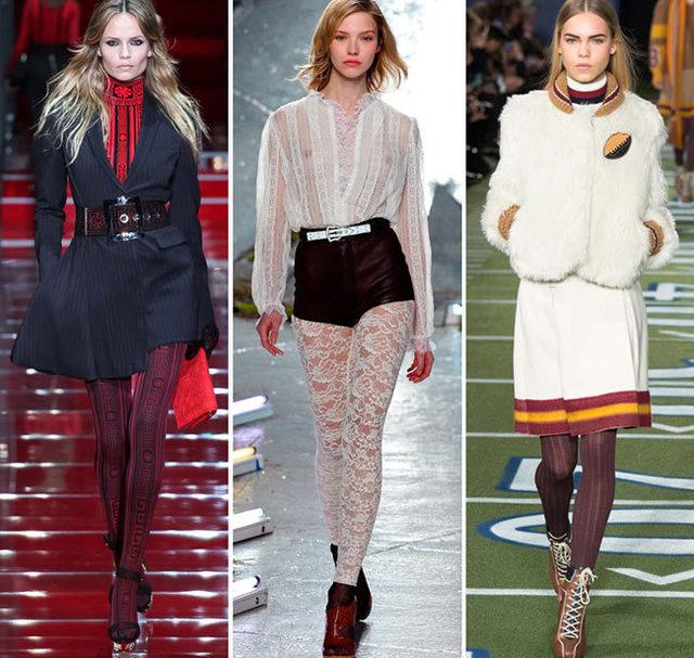Мода осень-зима 2015/2016: тенденции сезона