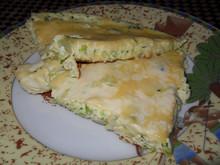 Омлет с брокколи и цветной капустой