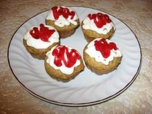 Овсяные кексы с орехами