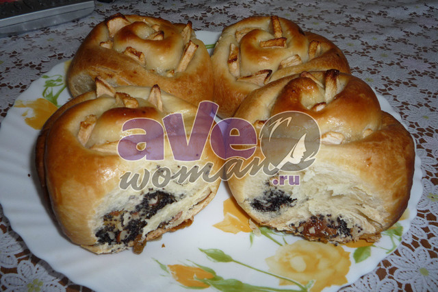Рецепты булочки плетенки с изюмом