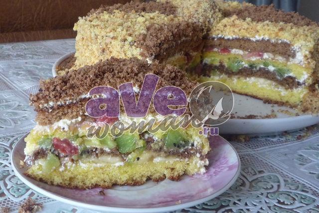 махровый торт рецепт фото рецепт