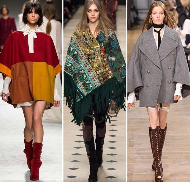 Верхняя одежда, модная осенью и зимой 2015/2016