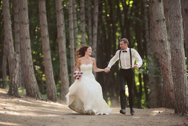Выездная регистрация и свадебная вечеринка у бассейна