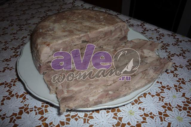 Домашняя ветчина из свинины