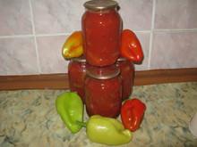 Болгарский перец в томате