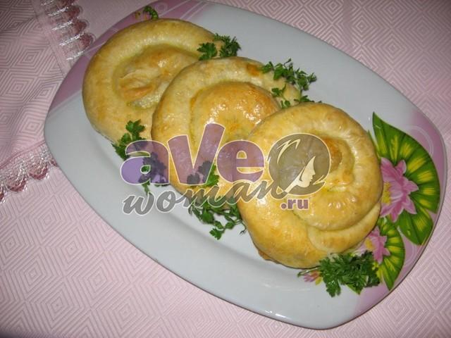 с с фило из капустой и фото Рецепты теста картошкой мясом